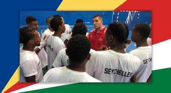 Coaching Basketball In Seychelles, Africa